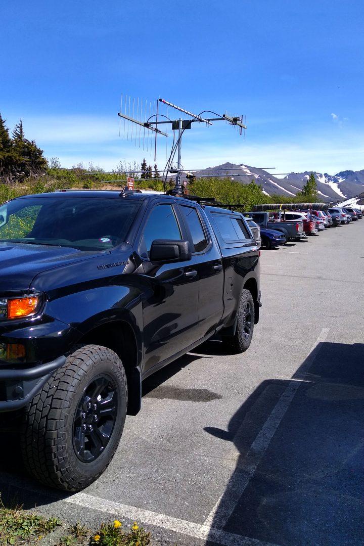 Chevrolet ham radio rover