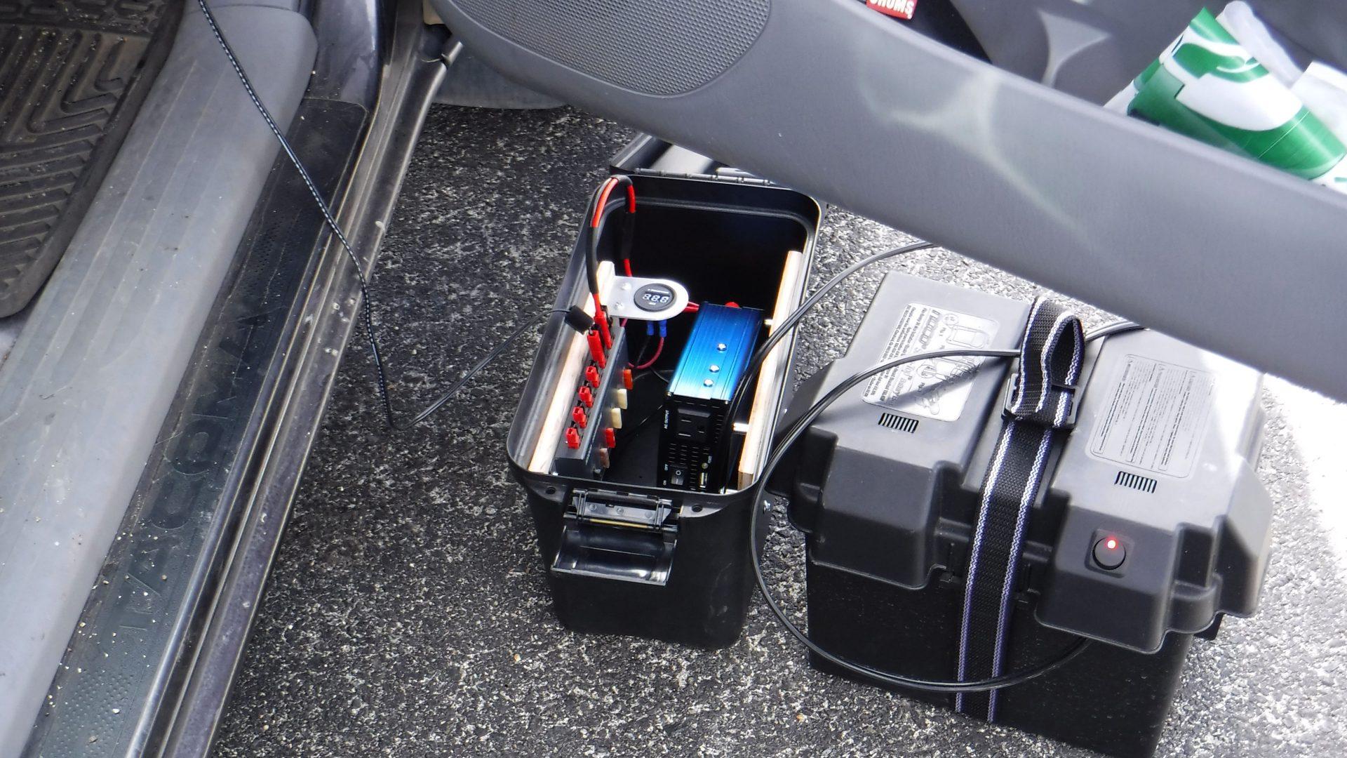 Ham radio portable power supply and inverter