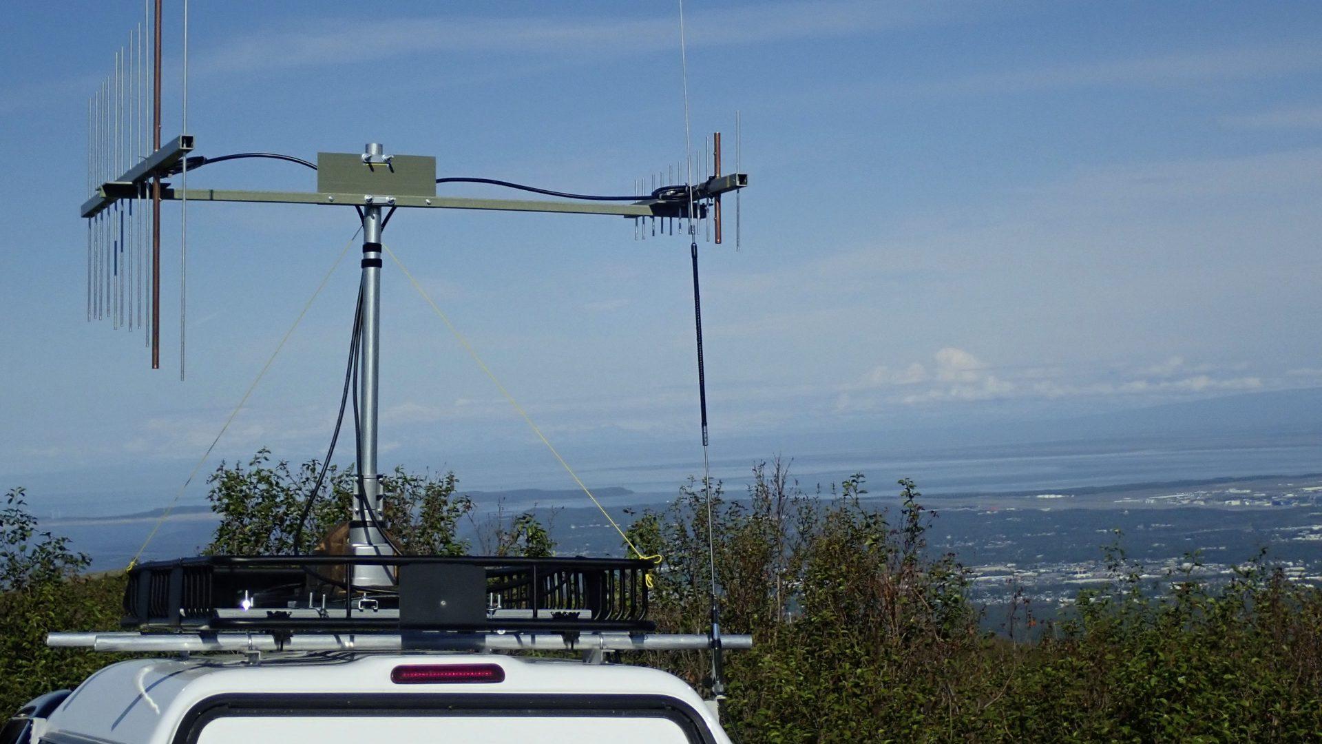 VHF rover contesting