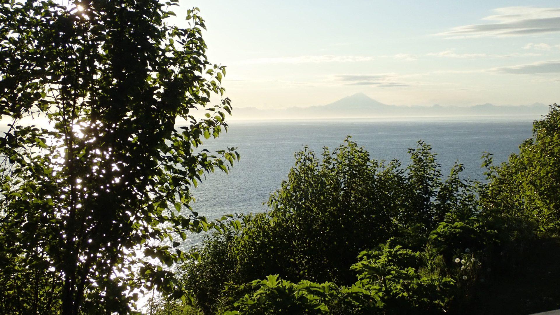 View over Cook Inlet, Alaska