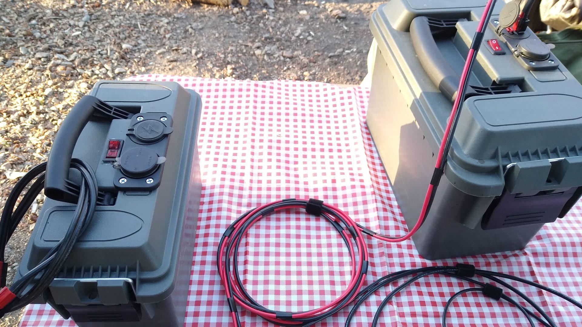 Ham radio battery packs