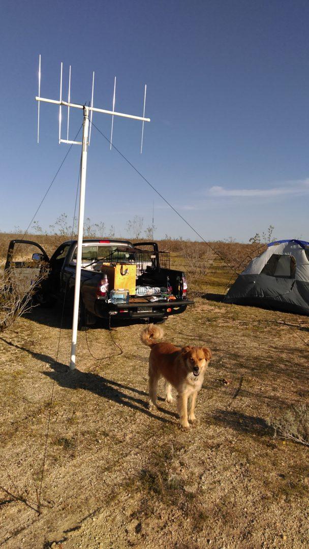 Amateur radio in the desert