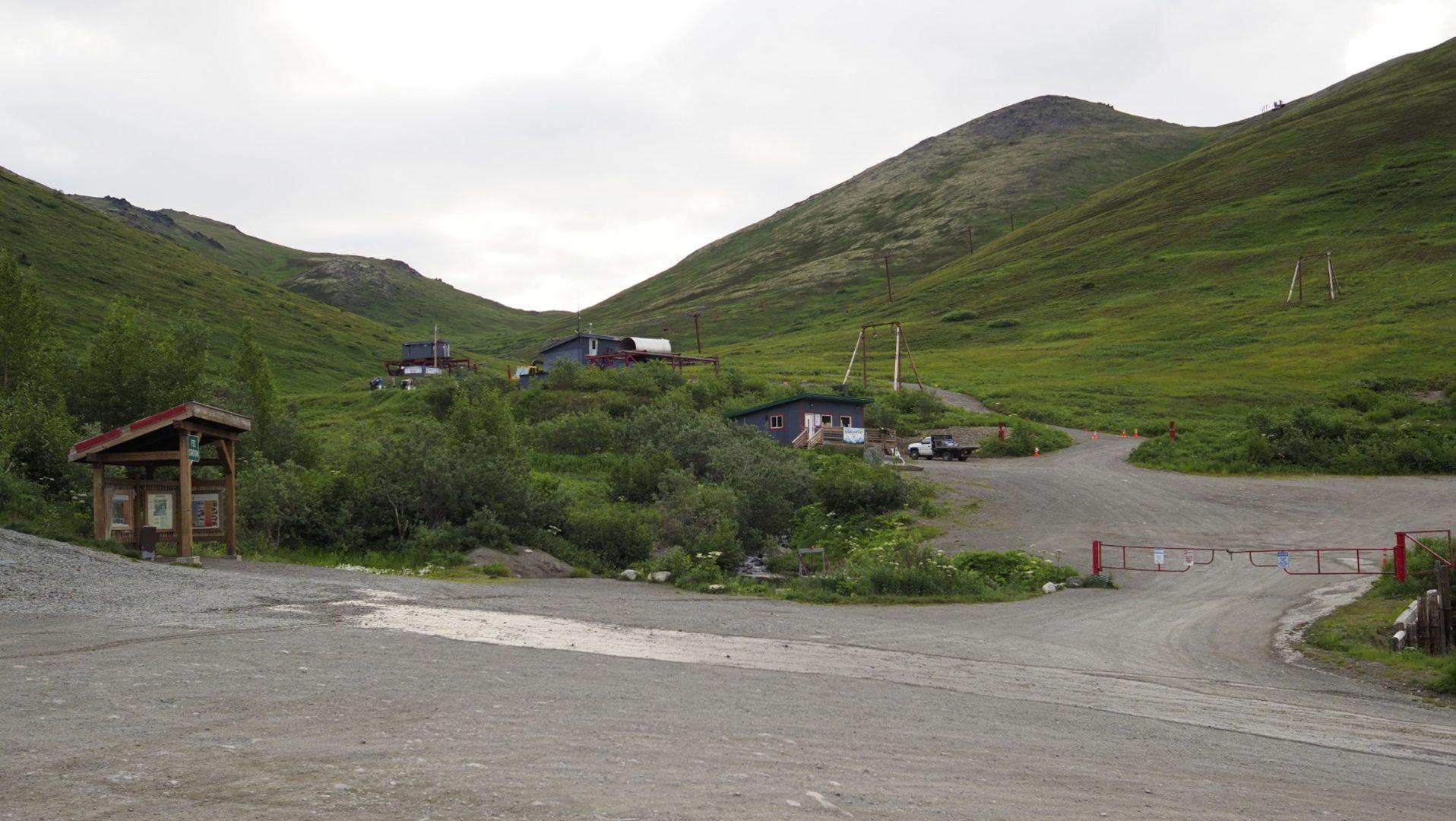View of Arctic Valley Ski Area