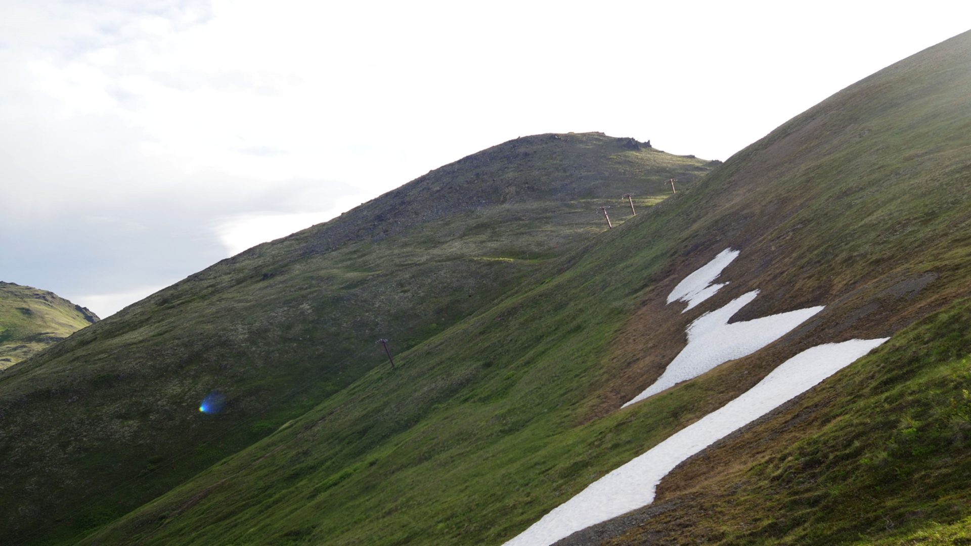View of Rendezvous Peak in the background