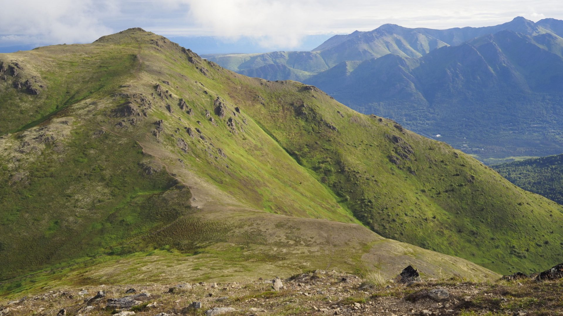 Rendezvous Peak, Alaska