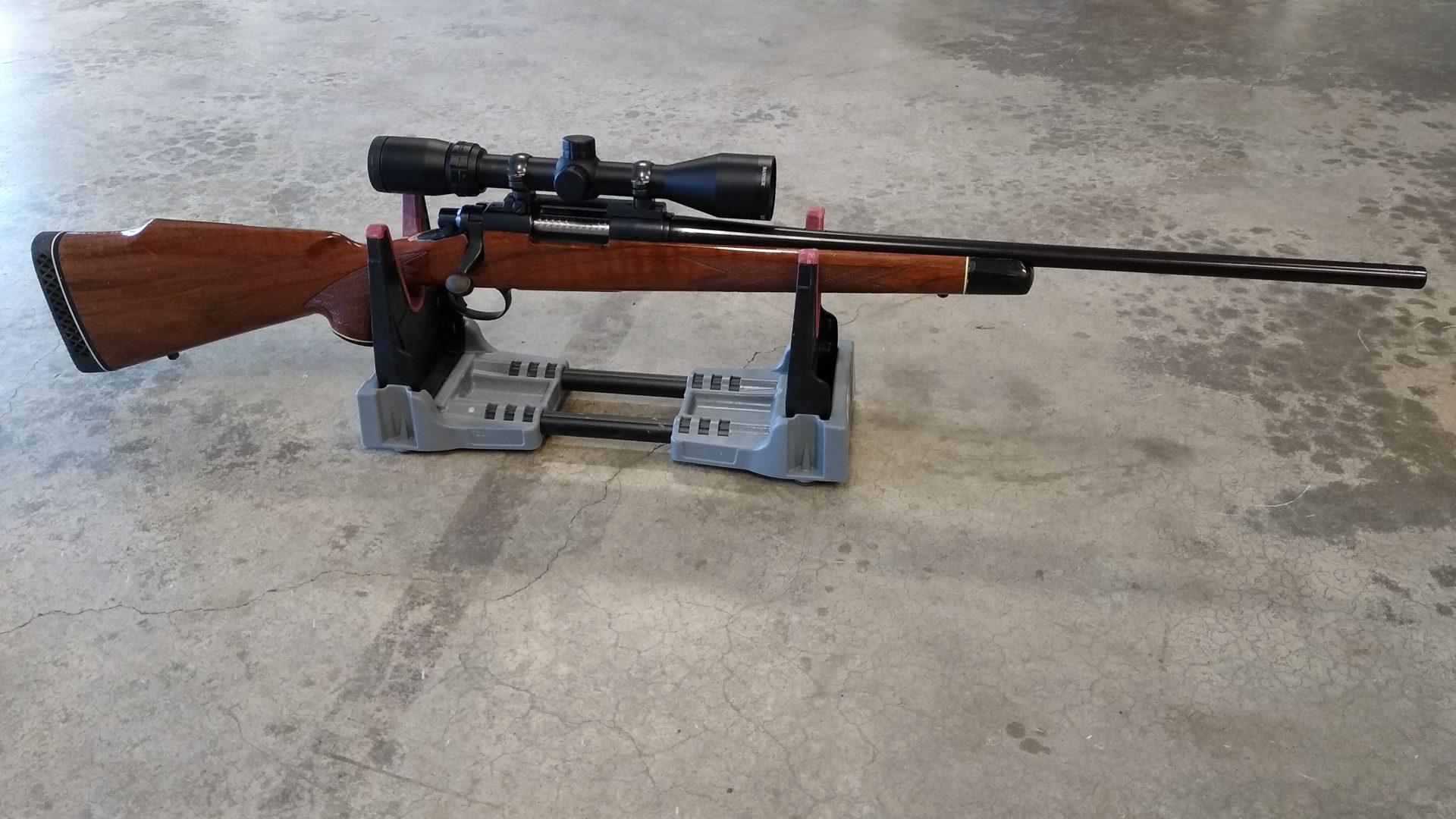 Remington model 700 with scope