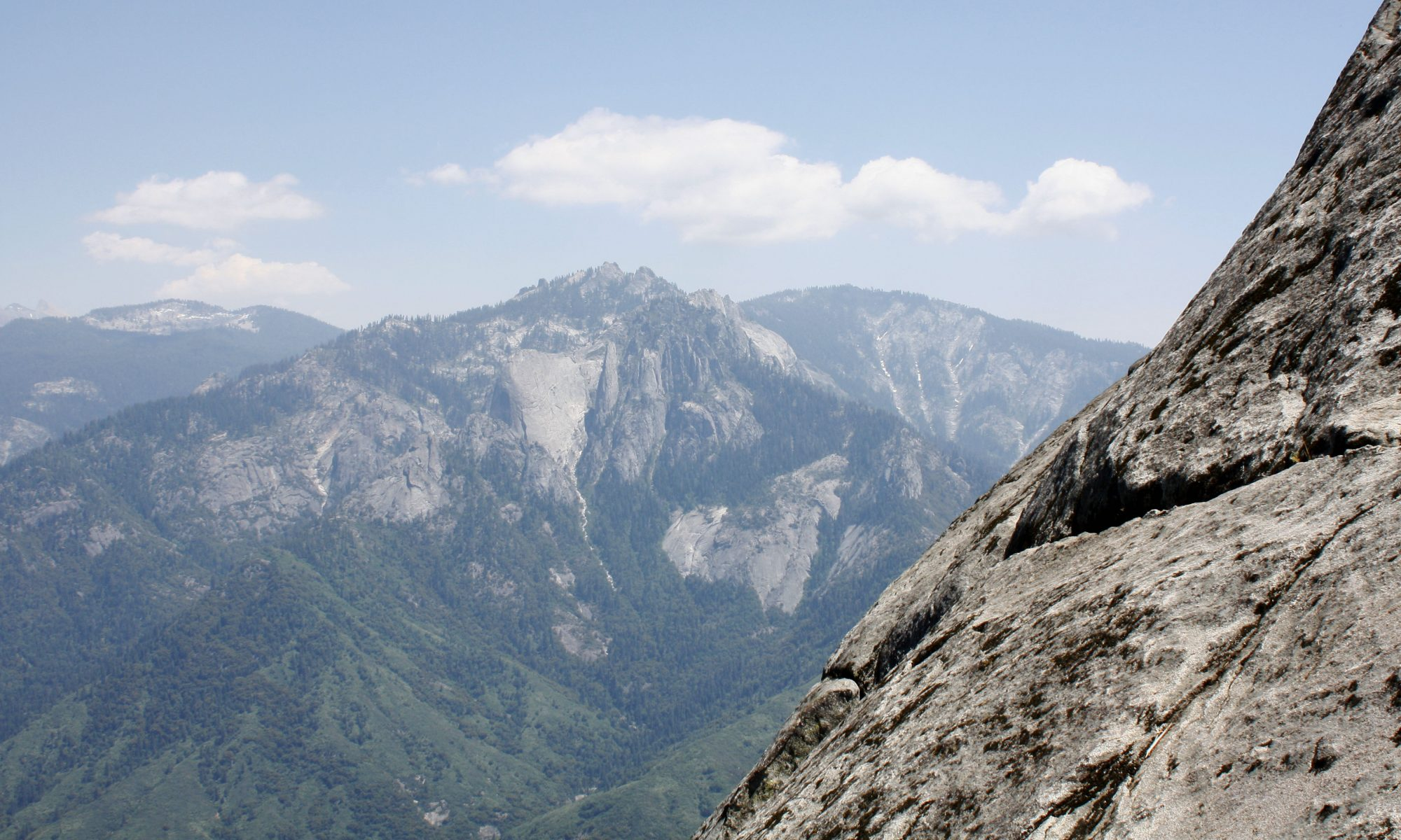 Sequoia National Park, from Mono Rock