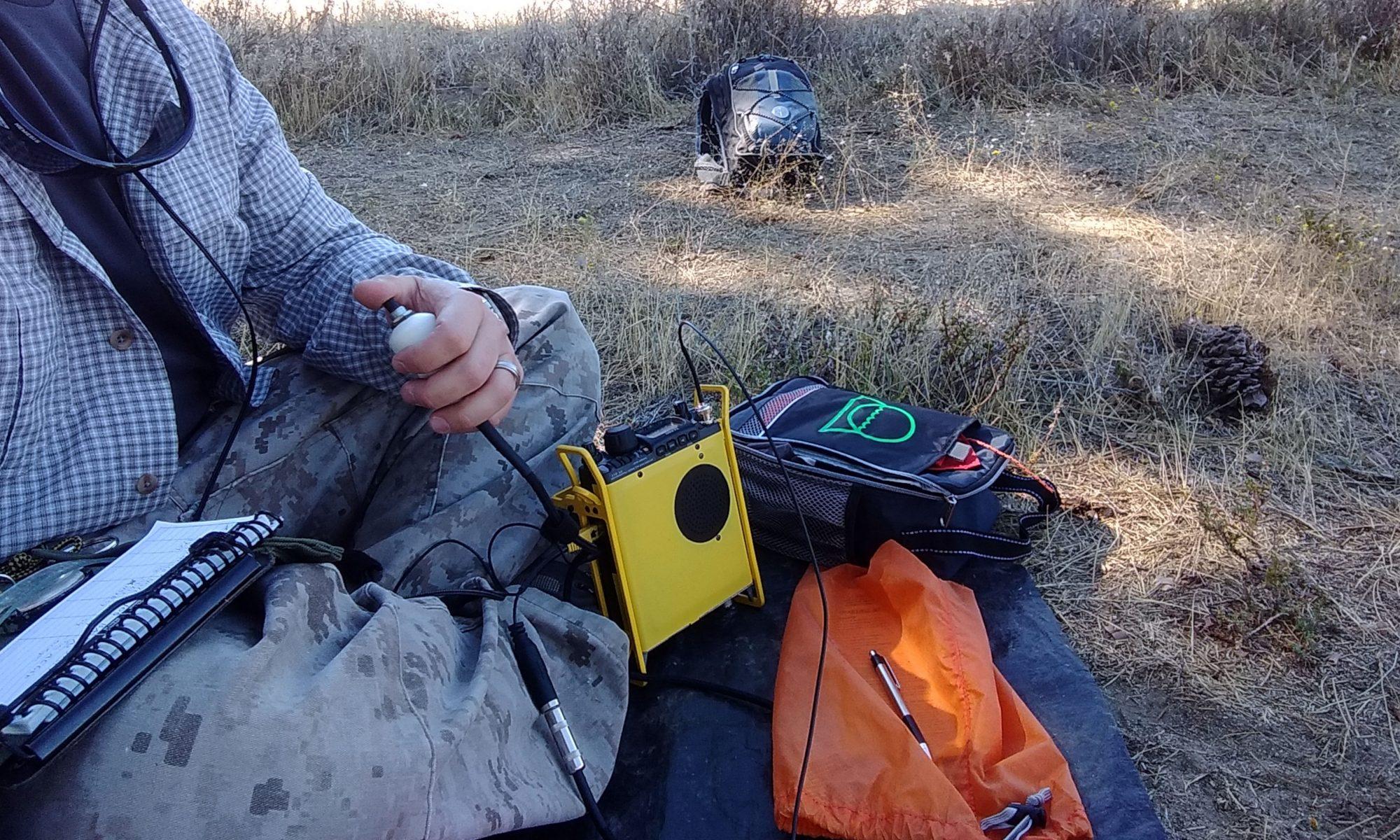 Portable ham radio gear for summits on the air